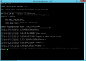 VCSA U2 - Install update from ISO