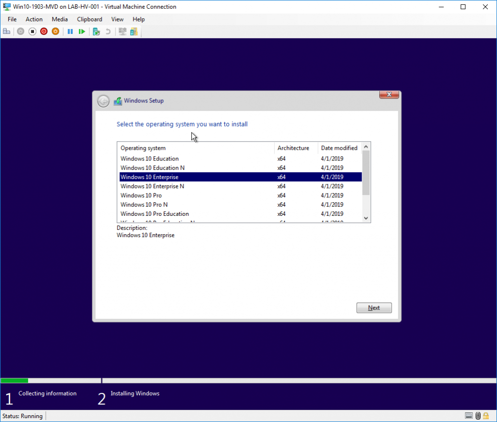 Windows Virtual Desktop LAB on Hyper-V (on-premises